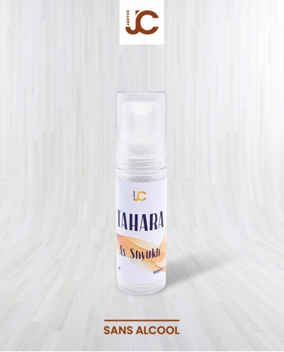 Musc tahara blanc as shyukh spray airless 5g